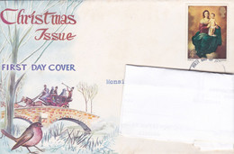 Enveloppe First Day Of Issue Christmas Issue Hastings To Old Portsmouth - Covers & Documents