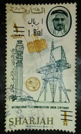 USED  STAMPS SHARJAH SURCHARGED - 1966 - Sharjah