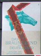 VIGNETTE DAS BRAUNE BAND VON DEUTSCHLAND 1937 - Ohne Zuordnung
