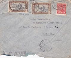 Enveloppe By Air Mail à Paris - Lettres & Documents