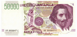 Italia - 50.000 Lire 1999 Bernini II - 50000 Liras