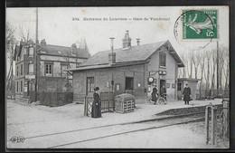 CPA 27 - Vaudreuil, La Gare - Environs De Louviers - Autres Communes