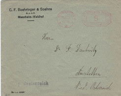 C. F. Boehringer & Söhne Mannheim Waldhof 1924 > Amstetten Österreich - Geneeskunde