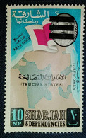 USED  STAMPS Sharjah - Definitive Issues - 1961( CRUCIAL STATE) - Sharjah