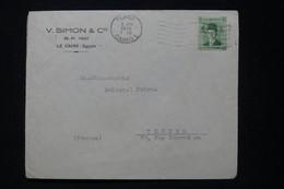 EGYPTE - Enveloppe Commerciale Du Caire En 1939 Pour La France - L 90709 - Lettres & Documents