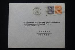 EGYPTE - Enveloppe Commerciale Du Caire En 1947 Pour La France - L 90710 - Lettres & Documents