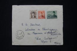 EGYPTE - Cachet Paquebot Port Saïd Sur Enveloppe D'un Australien Pour La France En 1952 - L 90712 - Lettres & Documents