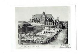 Cpm 75 - PARIS - Les Halles En Construction - échafaudage échelle - Piazze Di Mercato