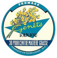 ETIQU. FEOM. 49-R GENETS D'ANJOU - Formaggio