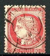 57 - 80c Carmin-rose Cérès - Oblitéré - 1871-1875 Cérès