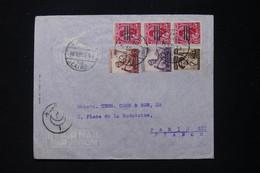 EGYPTE - Enveloppe Commerciale Du Caire En 1955 Pour Paris - L 90718 - Briefe U. Dokumente