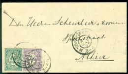 Nederland 1906 Brief Van Den Haag Naar Scheurleer Den Haag Met Aankomststempel - Covers & Documents