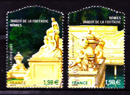 3786 / 3787 - Jardins De France - Les 2 Timbres - Oblitérés - Très Beaux - Oblitérés
