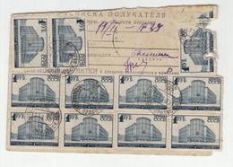 Russia USSR 1938/39 Parcel Card B210310 - Briefe U. Dokumente