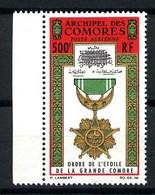 Archipel Des COMORES - PA 13 - 500F Etoile De Grande-Comore - Bord De Feuille - Neuf N** - Airmail