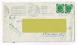 1953 - Germania - Munchen - Storia Postale - Lettres & Documents