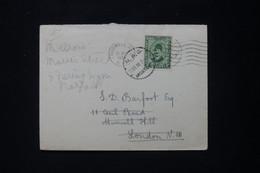 """EGYPTE - Cachet """" M.P.O.Moascar """" Sur Enveloppe En 1938 Pour Londres - L 90720 - Lettres & Documents"""