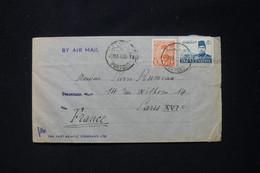 EGYPTE - Enveloppe En 1946 De Port Saïd Pour Paris Par Avion - L 90721 - Lettres & Documents