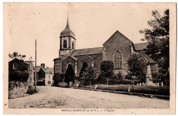 CPA 35 - MINIAC-MORVAN (Ille Et Vilaine) - L'Eglise - Autres Communes