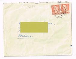 1957  - Denmark Danimarca  - Storia Postale - Cartas