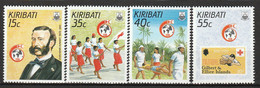 KIRIBATI - N°181/4 ** (1987) Croix Rouge - Kiribati (1979-...)