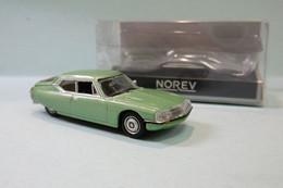 Norev - CITROEN SM 1972 Vert Métallisé Neuf NBO HO 1/87 - Baanvoertuigen