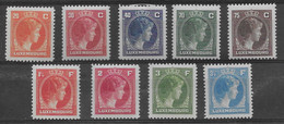 Small Collection Of Charlotte Right Side, MNH ** (see Scans) - 1926-39 Charlotte Rechtsprofil