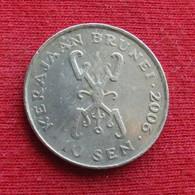 Brunei 10 Sen 2006 KM# 36 *V1 - Brunei