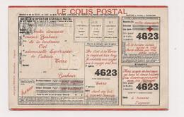BULLETIN D'EXPEDITION D'UN COLIS POSTAL - (  BRIEN Bruxelles) - - Poste & Postini