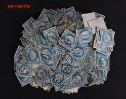 Lot De 500 Timbres N°60 Cérès 25c Non Triés - 1871-1875 Cérès