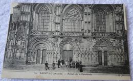 SAINT LO Portail De La Cathédrale - Saint Lo