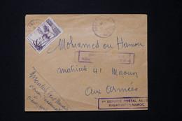MAROC - Enveloppe De Ouarzazate Avec Cachet  1er Vol Rabat / Inter Maroc - L 90728 - Briefe U. Dokumente