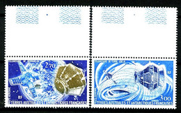 TAAF  PA 49 / 50 - Télémesures - Complet 2 Valeurs - Bords De Feuilles - Neufs N** - Très Beaux - Airmail