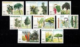 Ruanda, Rwanda **, 1983,  Flora, Fauna - 1980-89: Neufs