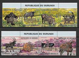 Burundi Série Complète JO 72 ** - Summer 1972: Munich