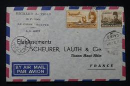 EGYPTE - Enveloppe Commerciale Du Caire En 1952 Pour La France Par Avion - L 90739 - Lettres & Documents