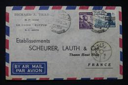 EGYPTE - Enveloppe Commerciale Du Caire En 1954 Pour La France Par Avion - L 90740 - Briefe U. Dokumente