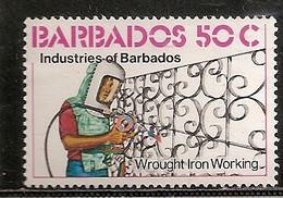 BARBADES OBLITERE - Barbades (1966-...)
