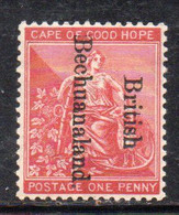 XP5031 - BECHUANALAND COLONY 1892 , Yvert N. 29 * Linguella - 1885-1895 Kronenkolonie