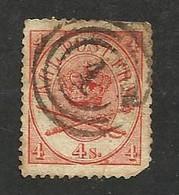 Danemark N°13 (second Choix) Cote 14 Euros - Oblitérés