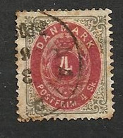 Danemark N°18 Cote 13.50 Euros - Oblitérés