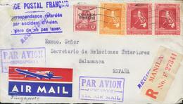 Correo Aéreo Accidentado. Sobre . 1928. Accidente Aéreo Ocurrido El 5 De Diciembre De 1937. Hidroavión Cygnus De Imperia - Unclassified