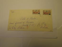 Peru Airmail Cover Lima To Bolivia 1980 - Perù