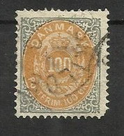 Danemark N°29(B) Cote 75 Euros - Oblitérés