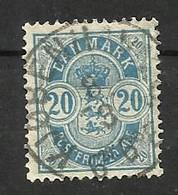 Danemark N°34 Cote 60 Euros - Oblitérés