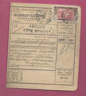Mandat-Lettre De 1932 Pour La France. YT N° 54 - Lettres & Documents