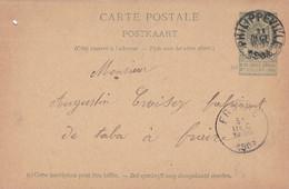 Carte Entier Postal 1903 ? Philippeville à Fraire - Postales [1871-09]