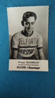 Cyclisme - Carte Publicitaire PELFORTH SAUVAGE LEJEUNE : GAUDRILLET - Ciclismo