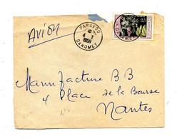 Lettre Cachet Parakou Sur Banane - Lettres & Documents