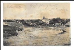 "POSTCARD "" GRÜSSE AUS ALTENWALDE "" BEAUTIFUL POSTAGE , 1923 . - Cuxhaven"